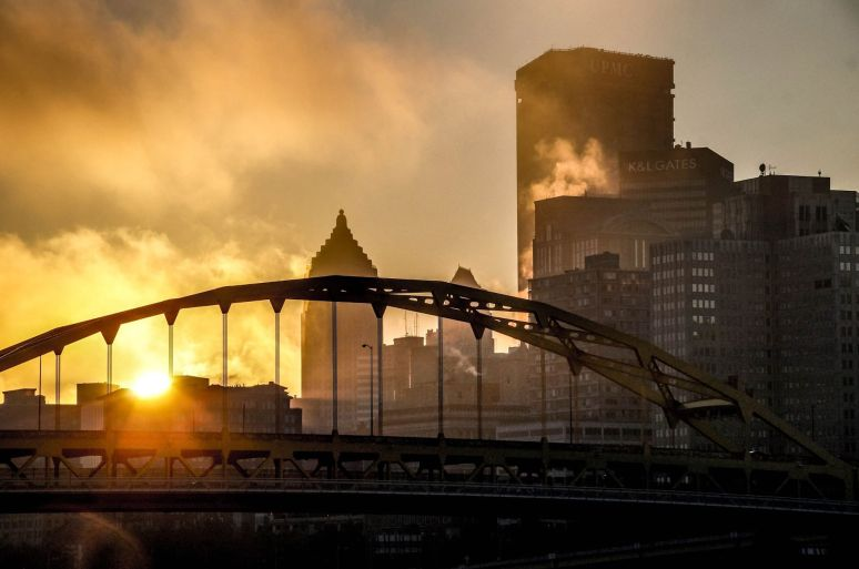 Sunrise Pittsburgh Sep 28 2013 Eric Binder